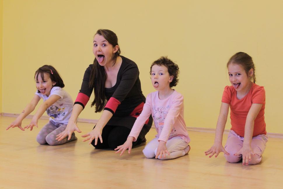jóga s dětmi