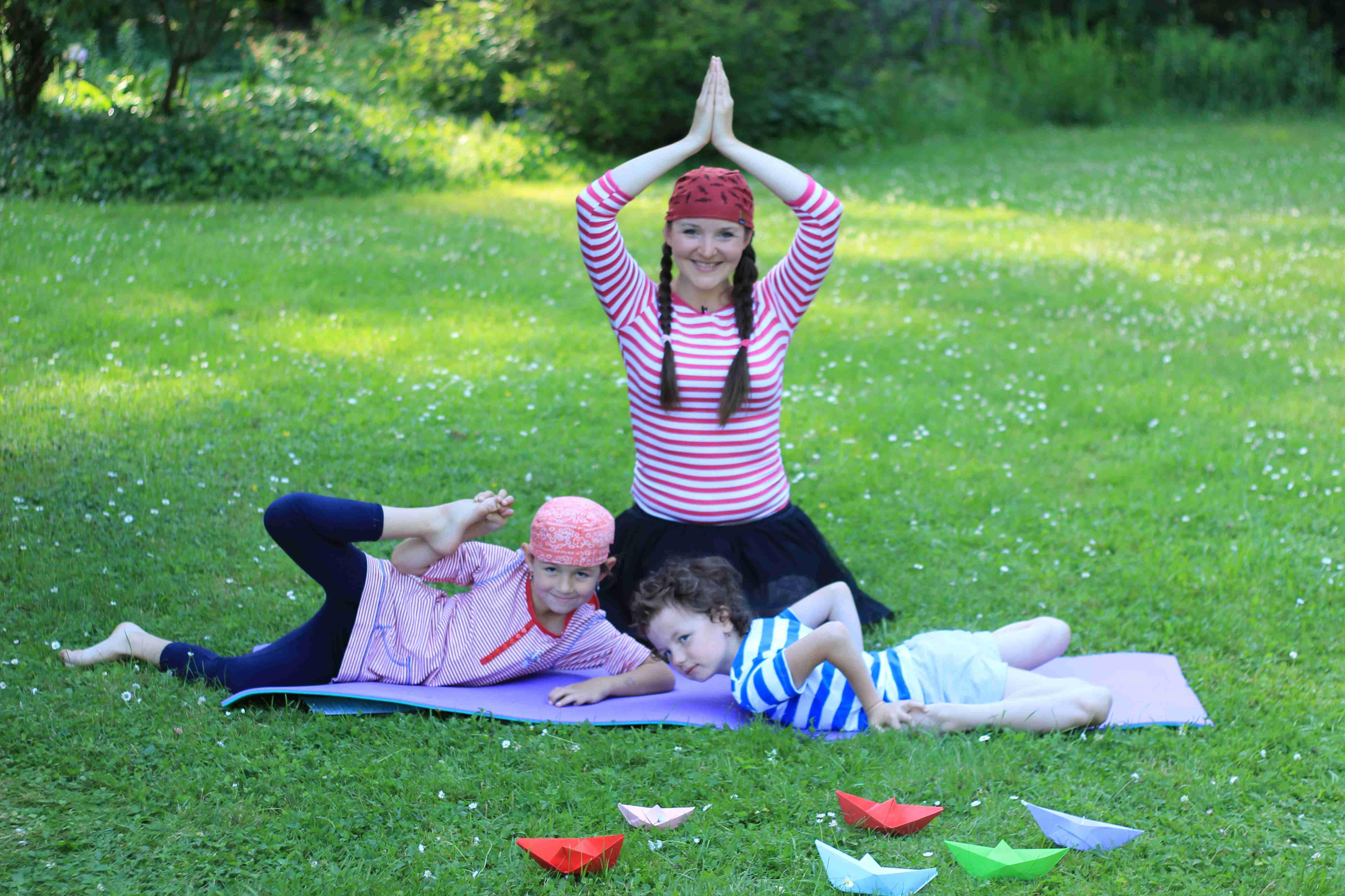 jóga pro děti s Kristy