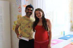 Deep Kumar a Kristy Roller